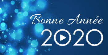 Tous nos meilleurs voeux pour 2020 !